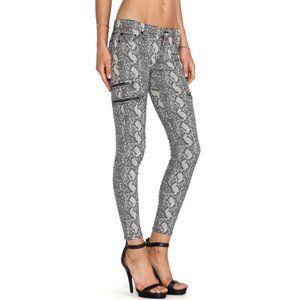 Hudson mystic super skinny crop jeans womens 25